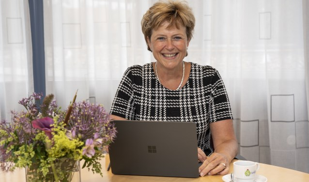 Burgemeester Marjan van Kampen.