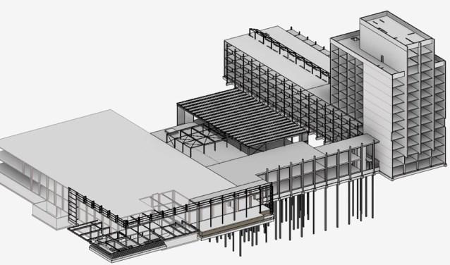 Faas & van Iterson BV ontwerpt en berekent bouwkundige constructies.