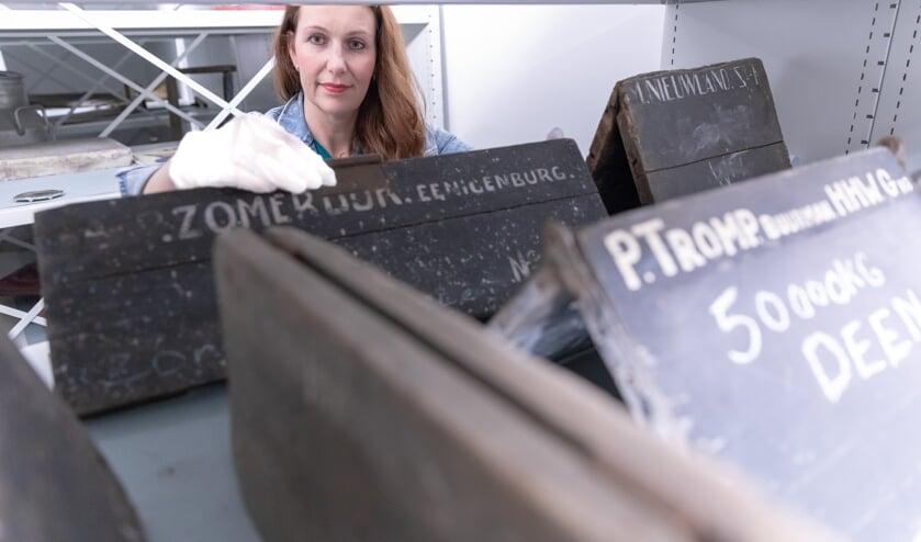 Lisette Zijp was bijna zeventien jaar conservator bij Museum BroekerVeiling.