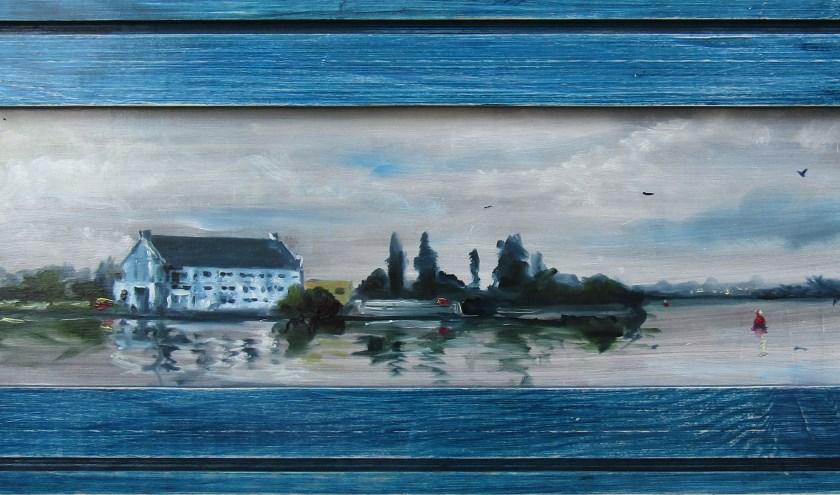 Aan de Zaan, werk van Kinga Wieczorek.