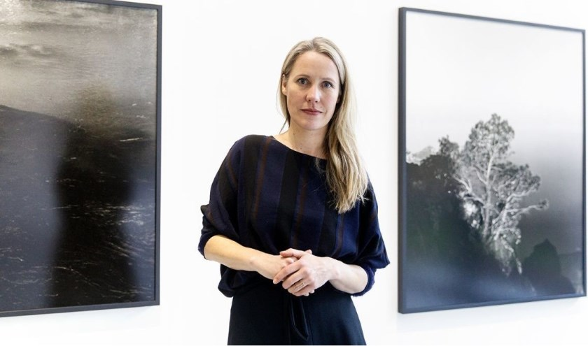 Kunstenaar Awoiska van der Molen.