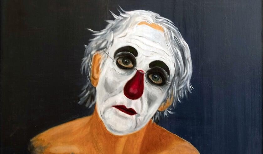 Een excentriek portret van Freek de Jonge.