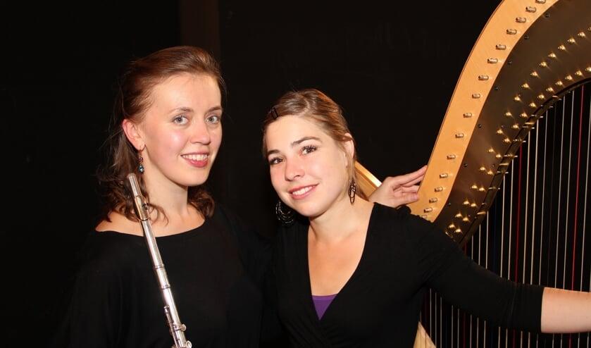 Dasha Beltiukova en Mirjam Rietberg.