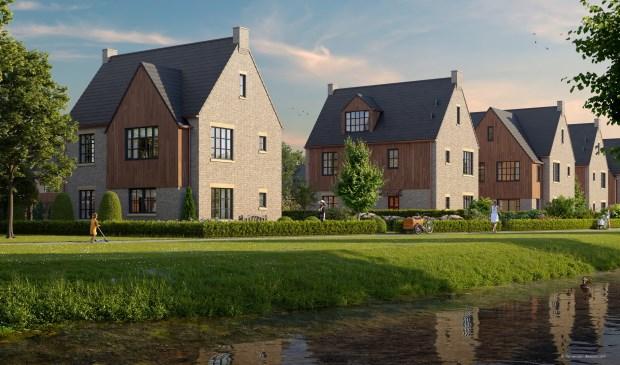 Verkoop 12 luxe villa's in Rietland van start.