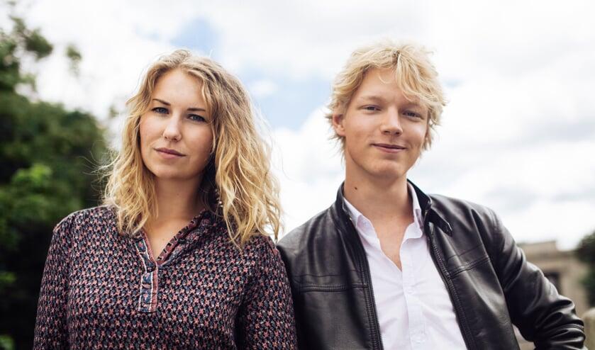Minka Bodemann en Luuk Janssen.