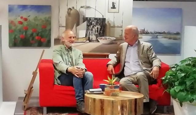 Sietse Wiersma in gesprek met Jan Hoekema.
