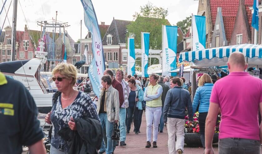 Alle activiteiten vinden op en rond de oude binnenhaven van Hoorn plaats.
