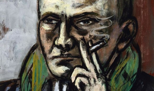 Max Beckmann: Zelfportret met sigaret