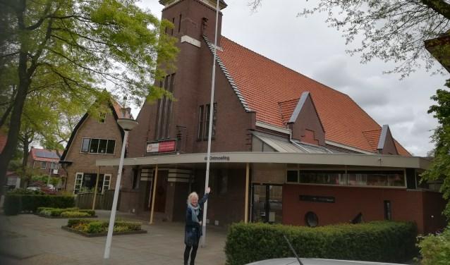 ds Mirjam Sloots voor kerk Ontmoeting