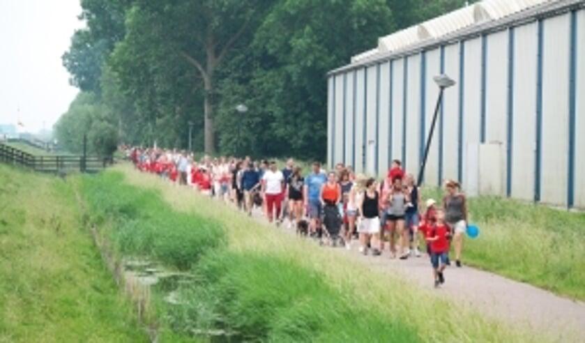 Avondvierdaagse Egmond aan den Hoef gaat starten.