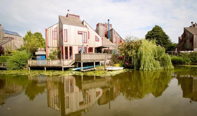 Houtskeletbouw in Alkmaar-Noord.