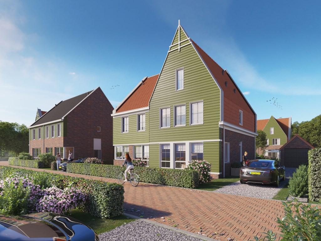 Nieuwbouw Noorderweg Kreekrijk.  © rodi