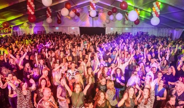 Het was één groot feest tijdens het Popweekend in 't Kruis.