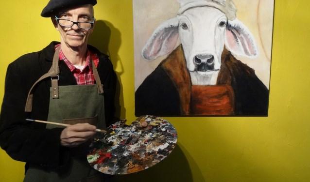 Bert Broers toont 'een andere kijk op koeien uit de Gouden Eeuw'.