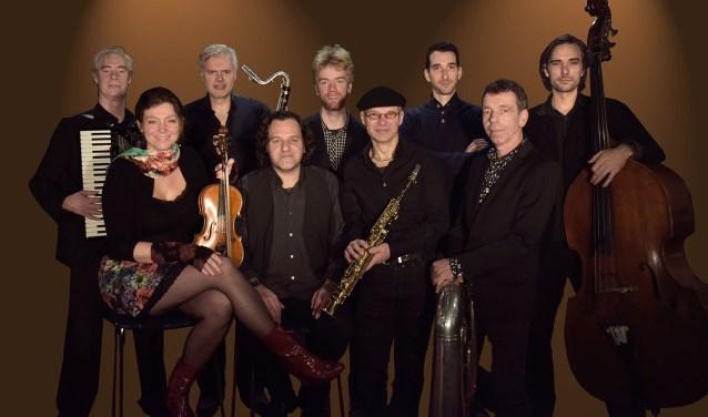 Gadjo Orkestra inCultuurkoepel Heiloo.