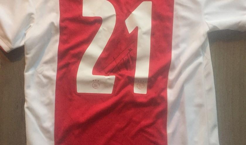 Het Ajax-shirt van Frenkie de Jong.