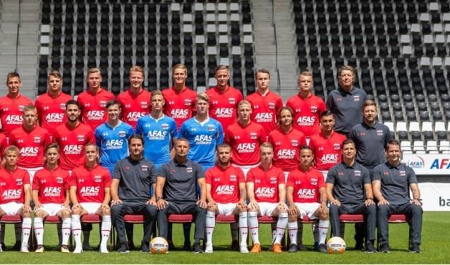 Jong AZ komt langs bij FC Uitgeest.