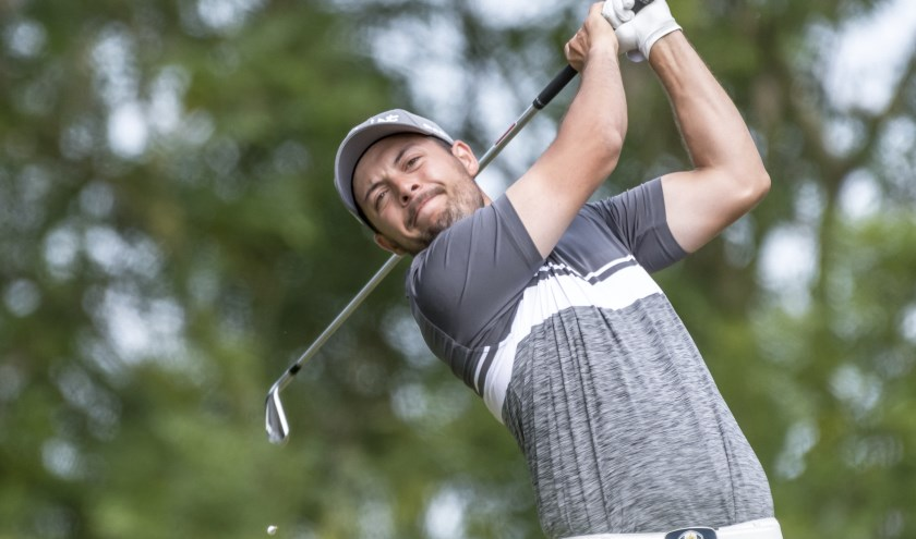 Philip Bootsma was vorig jaar als amateur met een derde plaats de beste Nederlander in het Broekpolder International Open.