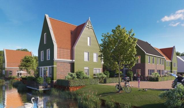 Nieuwbouw Noorderweg Kreekrijk.