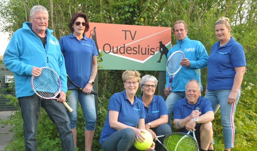 Wedstrijdcommissie open Kakebien tennistoernooi.