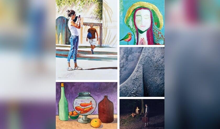 Zo'n 90 kunstenaars verspreid over de gemeente Langedijk zetten hun deuren open voor het publiek.