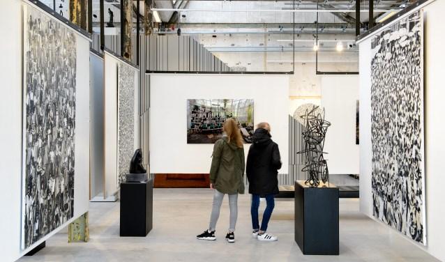ArtZaanstad is het centrum voor beeldende kunst.