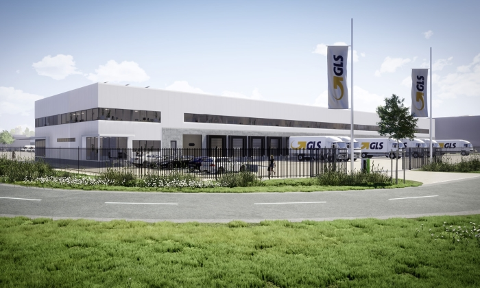 Na voltooiing van het nieuwe depot in het Atlaspark in de haven van Amsterdam, zal GLS beschikken over een distributieruimte van 6.200 vierkante meter.