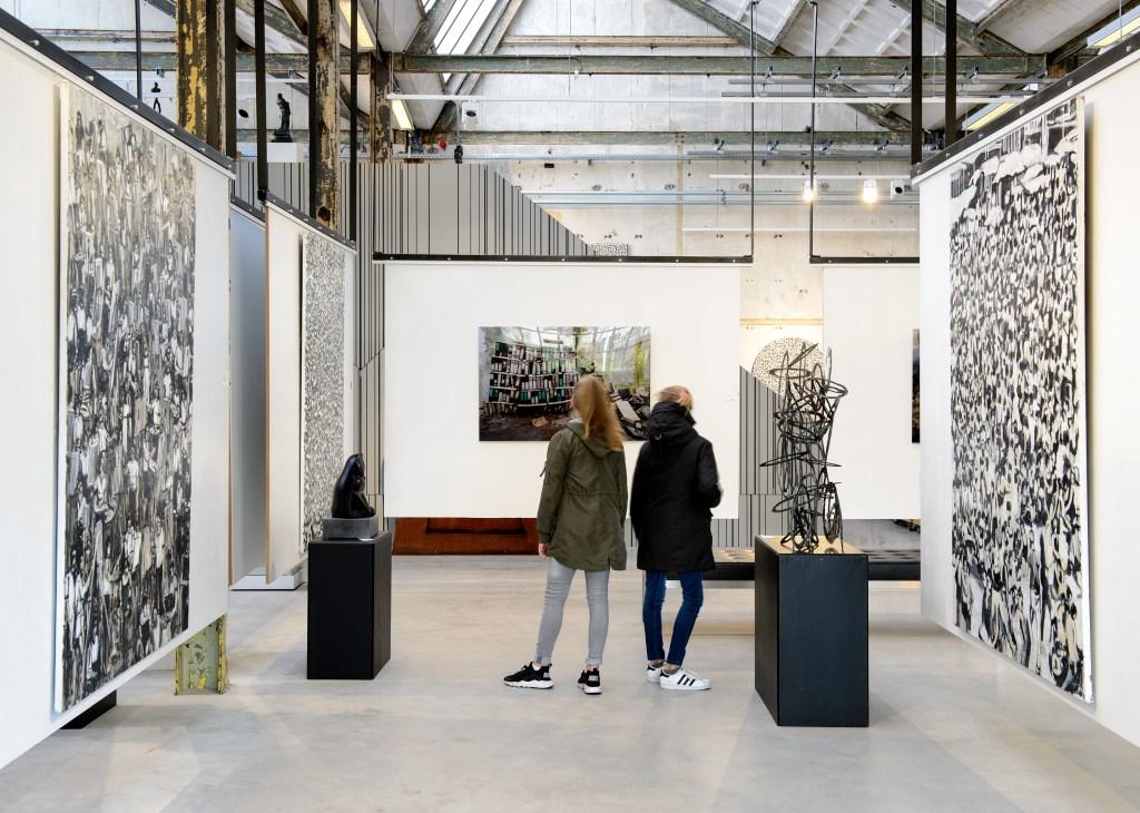 ArtZaanstad is het centrum voor beeldende kunst.  (Foto: Mike Bink fotografie) © rodi