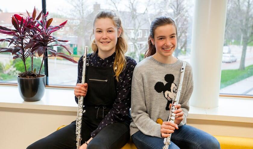 Kirsten Keet en Sanne Ganzinga.