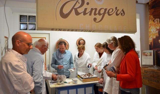 Nazaten Ringers bezoeken Bakkerijmuseum Medemblik.