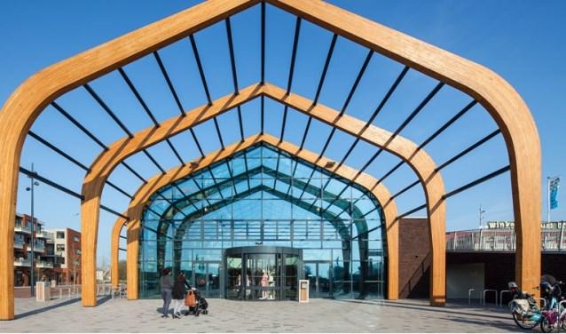 In winkelcentrum BroekerVeiling is in 2018 in totaal 34,2 miljoen euro besteed.