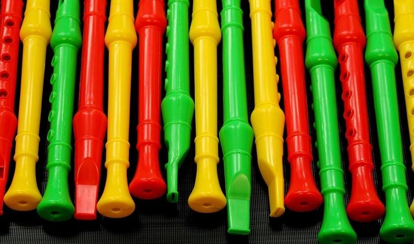 Tijdens het kindermuziekfestival kan iedereen zijn of haar muzikaal talent laten horen op een echt podium.