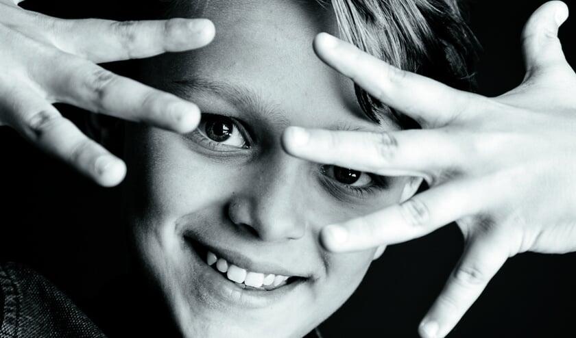 Sonny van Utteren uit Hoorn speelt Sam in de film 'Mijn bijzonder rare week met Tess'.