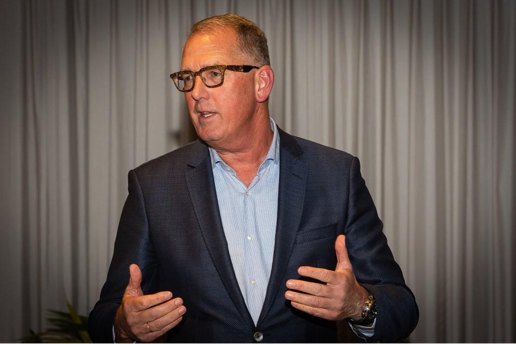 """BO-voorzitter Bart Tishauser: """"Met Roy Borst en Erwin Wijman hebben we mooie sprekers met interessante verhalen."""" (Foto: Han Giskes) © rodi"""