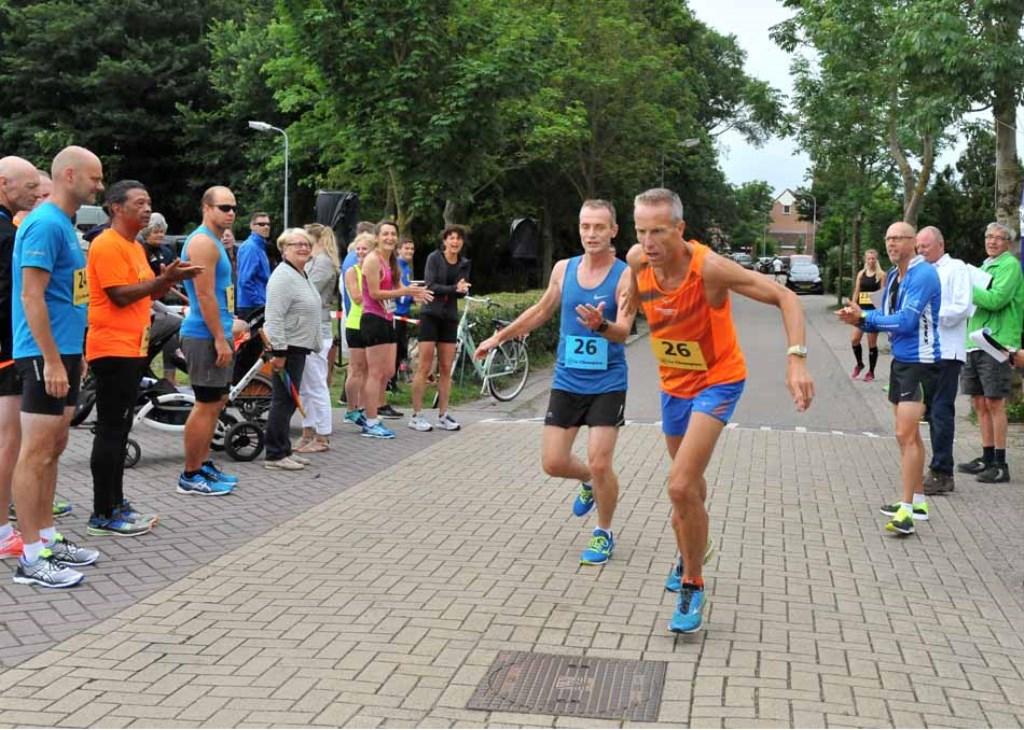 Lekker samen hardlopen (Foto: Haan Martin de) © rodi