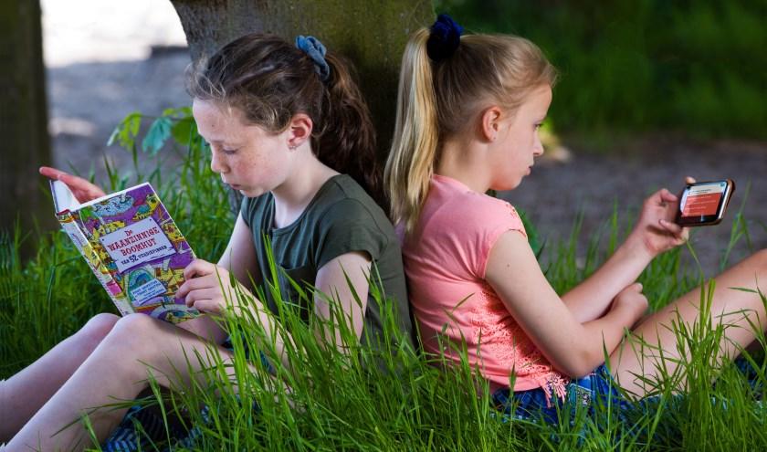 De app Pelle op Reis stimuleert kinderen ook om buiten schooltijden te lezen.