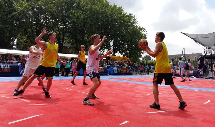 Komende zaterdag vindt in Heemskerk het 3 tegen 3 Basketball Street Event plaats.