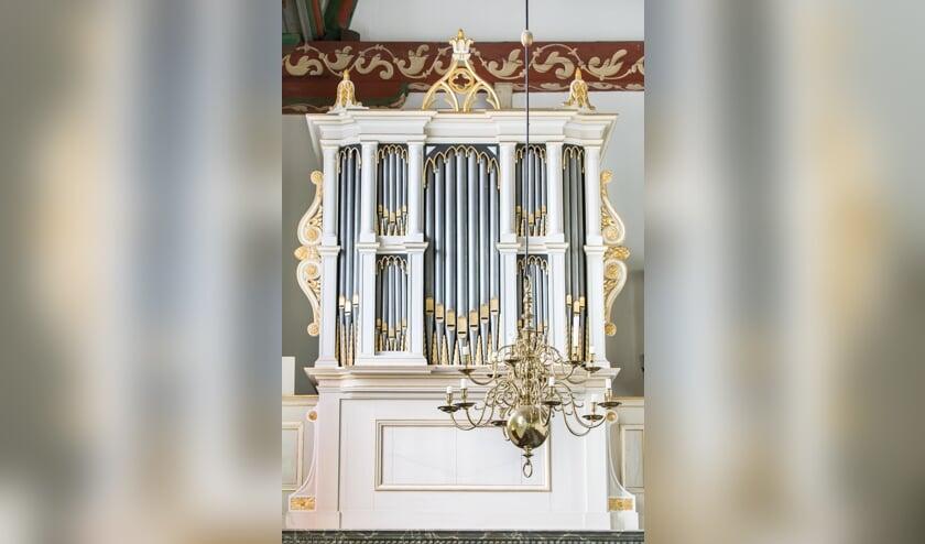 Het historische Knipscheer-orgel.