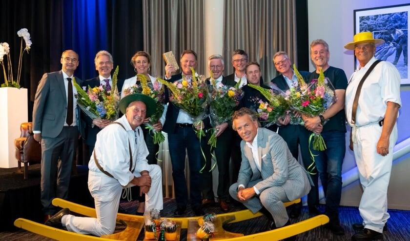 Vastgoedondernemer Gerry Teerenstra wint de Gouden Baksteen