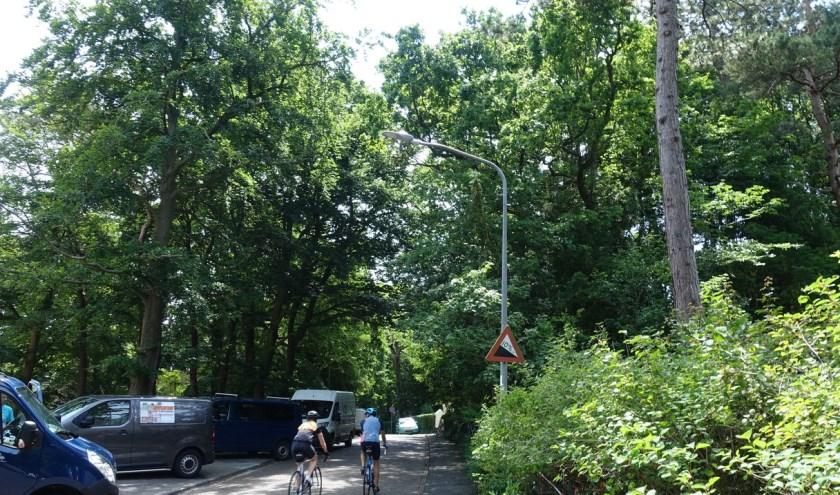 Nieuwe straatverlichting in de gemeente Bloemendaal.