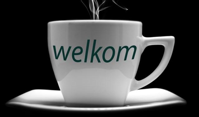 De koffieochtend is bedoeld voor iedereen die er even uit wil zijn en zin heeft in een gezellig gesprek.