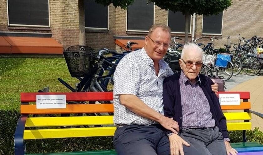 Piet Karsten en George Goorsenberg.