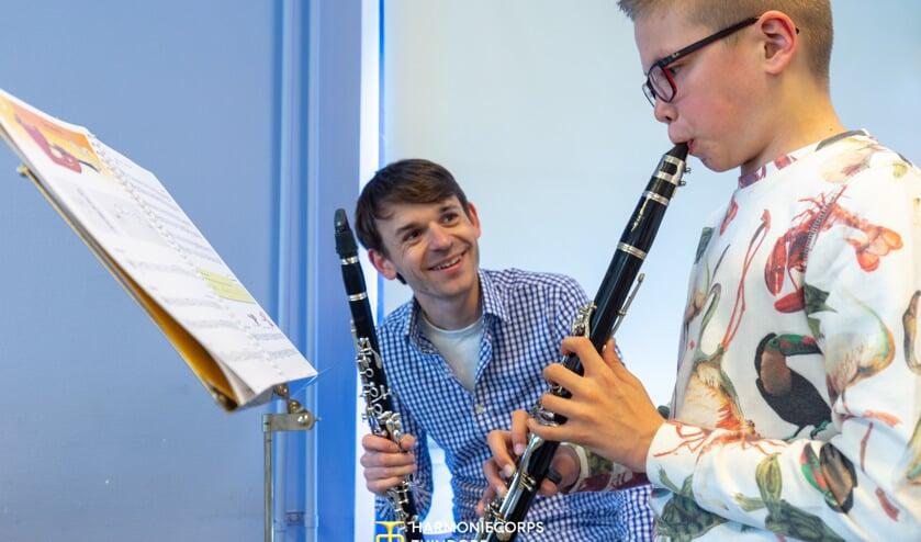 Kennis maken met de klarinet. Kom langs bij HCT in Tuindorp.