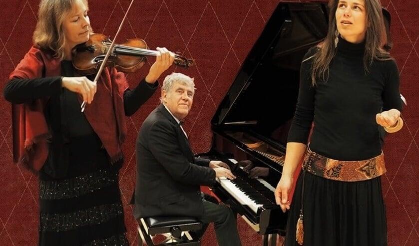 De drie rasmuzikanten.