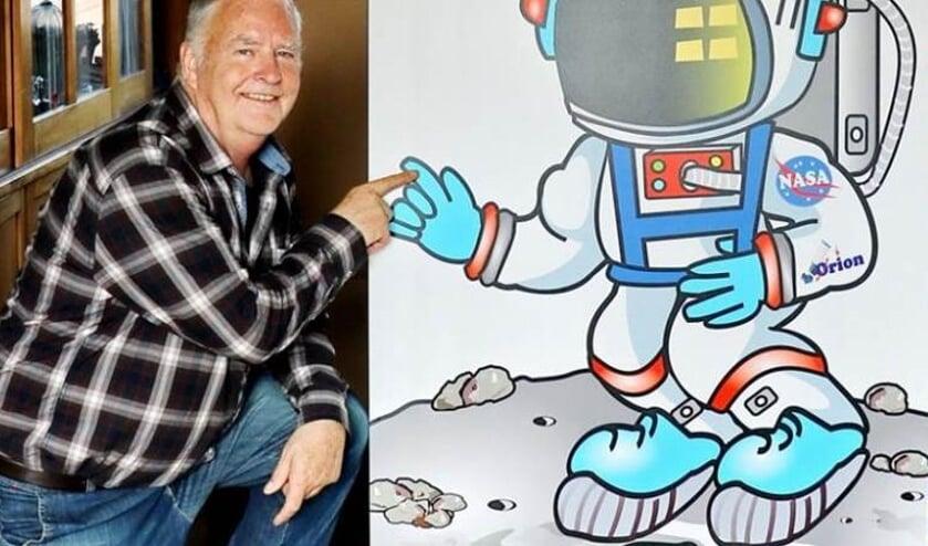 De Volkssterrenwacht schenkt aandacht aan het feit dat de eerste maanlanding vijftig jaar geleden plaatsvond.