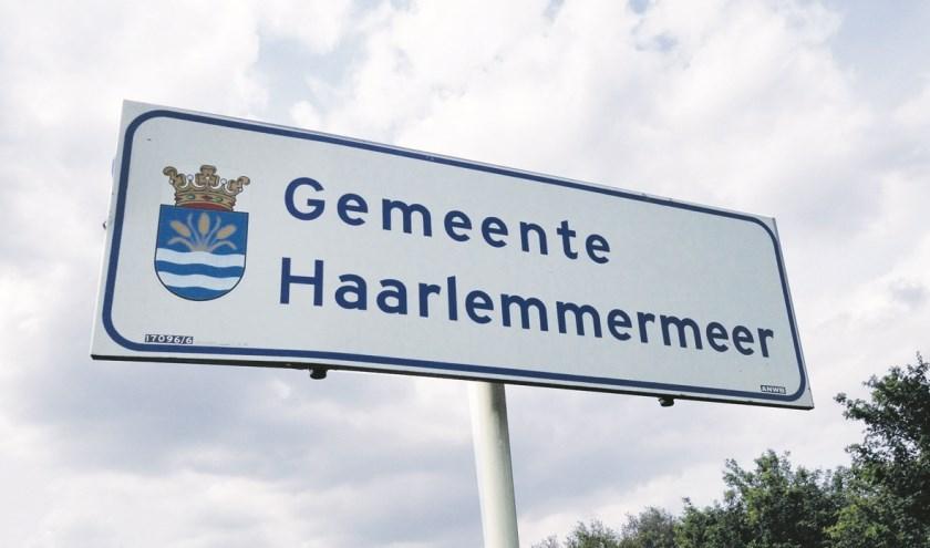 De gemeentegrens van Haarlemmermeer.