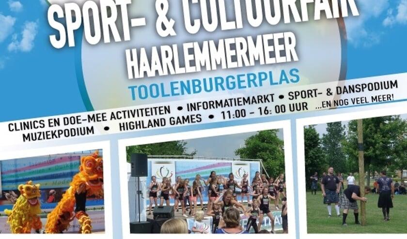 Sport en cultuur snuiven in Hoofddorp.