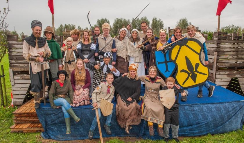 Eerder organiseerde Jeugdland Nieuw-Vennep een Ridderdag.