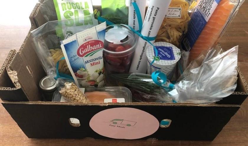 Easy Meals, een maaltijdenbox, is slechts één van de voorbeelden van een door de scholieren verzonnen onderneming.