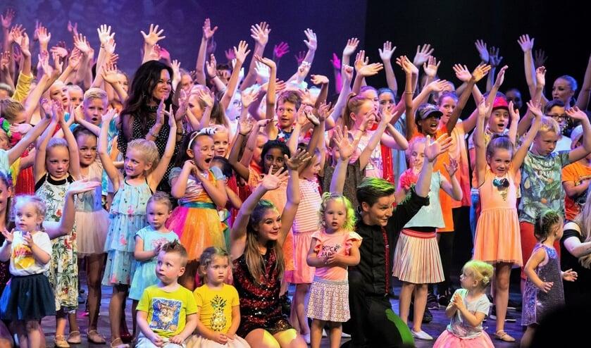 De kinderen van Dance Studio Patty hebben er zin in op 29 juni.